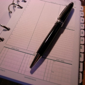 Sample of the systematic franklin planners