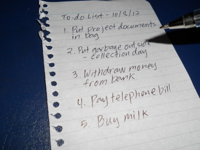 To-do lists sample you can use